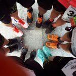 Füße Jever Fun Lauf 2018
